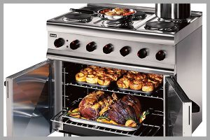 Lincat ESLR9C Convection Oven with Range Top by Catering Equipment Services Ltd